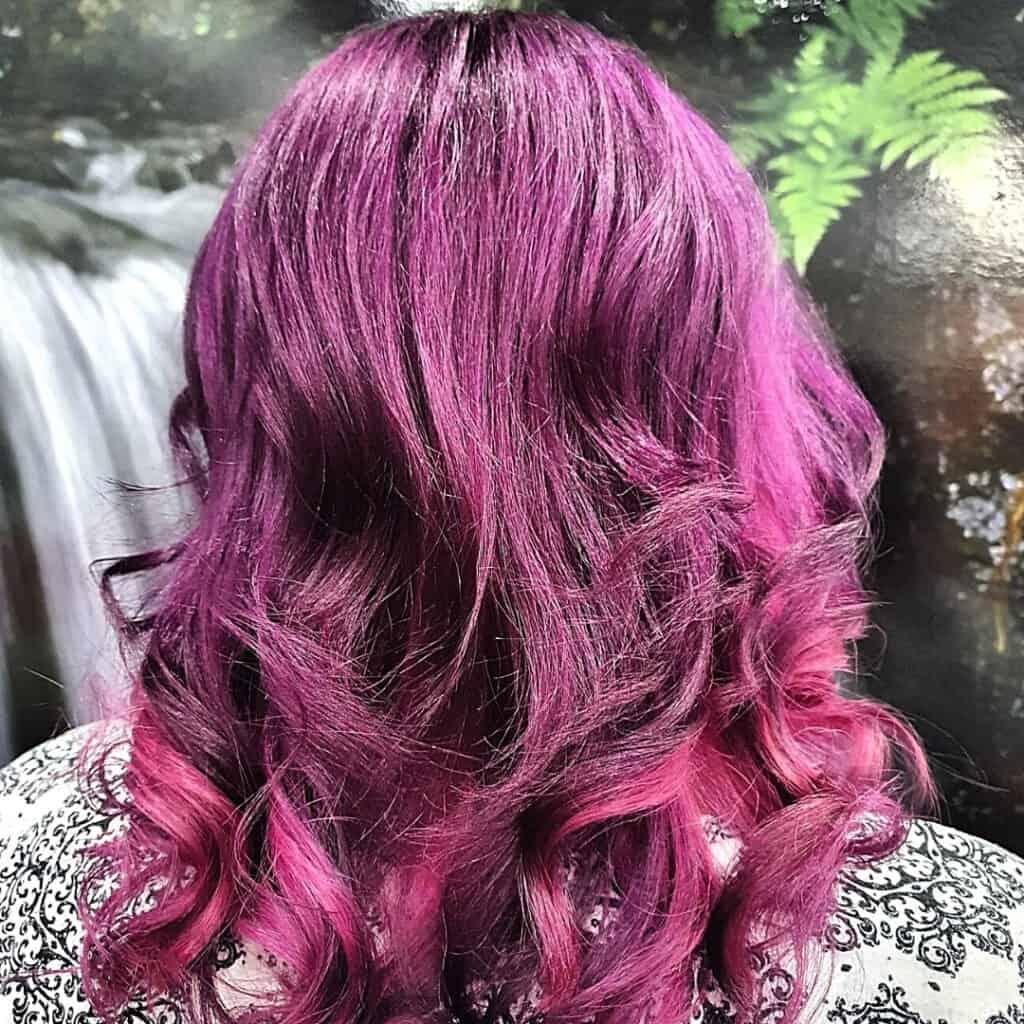vivid purple hairdresser toowoomba